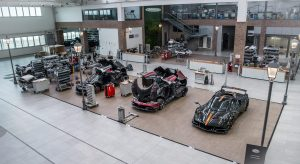 Pagani Factory and museum